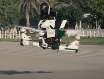 Dubai Police Will Soon Be Riding Hoverbikes hoverbike