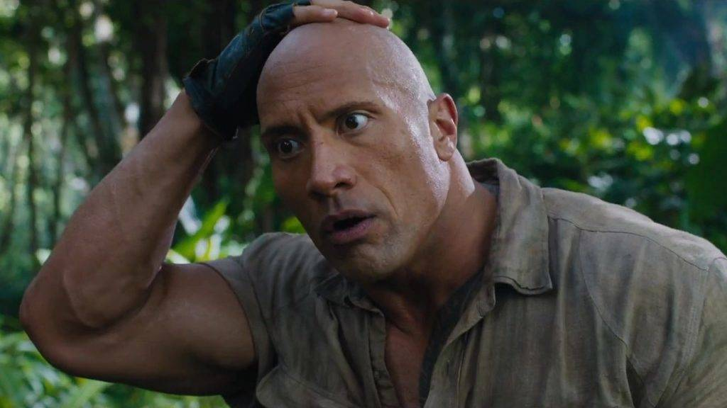 The Rock Shuts Down Comedian Who Told Him Wrestling Isnt Real jumanji dwayne johnson shocked 1024x576