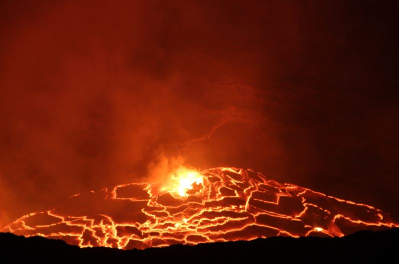 Archaeologists Find Gates Of Hell In Saudi Arabia lava