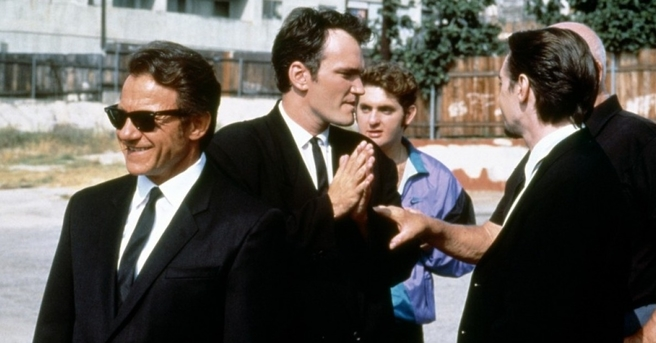 a report on reservoir dogs a film by quentin tarantino ' reservoir dogs' ' reservoir dogs'(1991) dirquentin tarantino 'reservoir dogs' is the debut film from writer/director tarantino the film is an unusual example of a heist film particularly in terms, of the narrative.