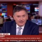 BBC Newsreader Can't Believe Royal Baby Due Date Is Breaking News