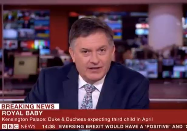 BBC Newsreader Cant Believe Royal Baby Due Date Is Breaking News simon web