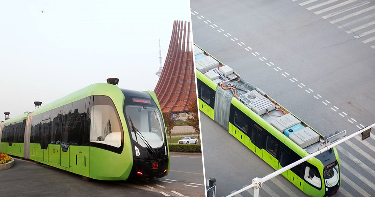 Worlds First Track less Train Opens smart train thumbnail