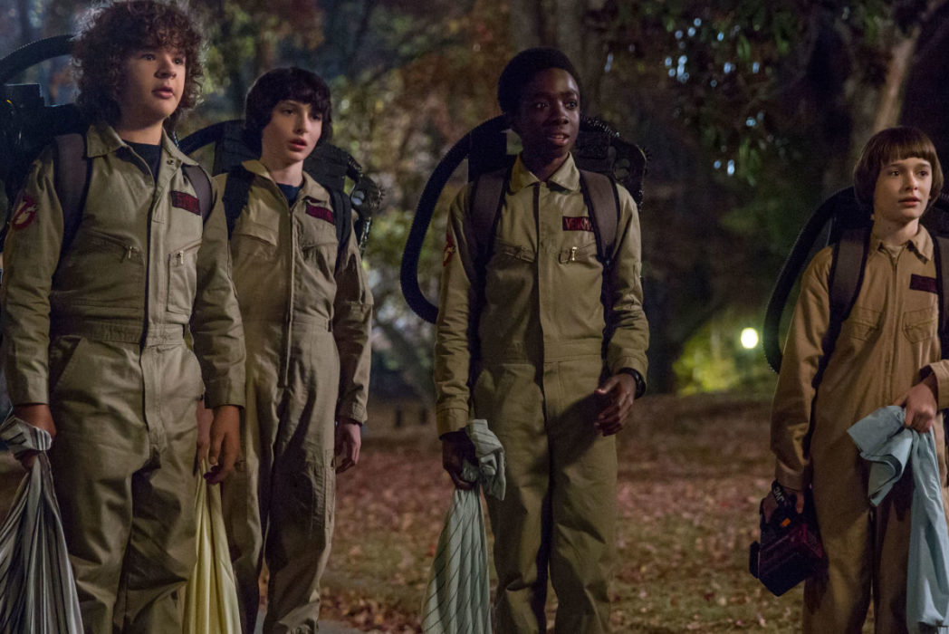 stranger things season two ghostbusters