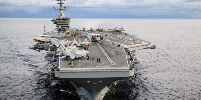 Trump Sends Three Biggest Aircraft Carriers In The World To North Korea 140923 N SB299 242 660x330