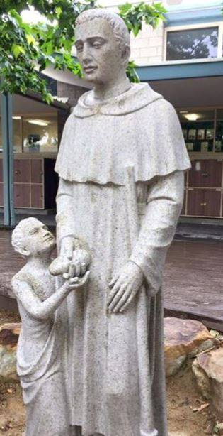 Catholic School Forced To Cover Up Very Unfortunate Statue 23755083 1757514070945907 1518428598219772744 n