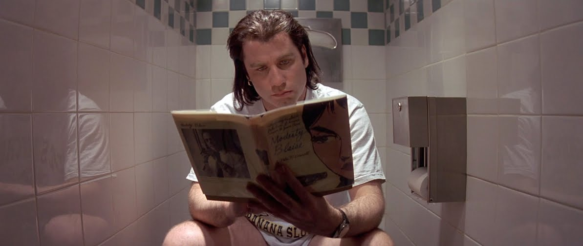 John Travolta in 'Pulp Fiction'