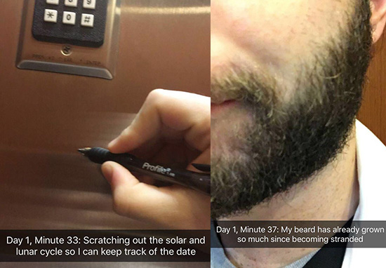 Doctor Stuck In Lift Goes Viral Thanks To Sensational Snapchat Story 37 mins