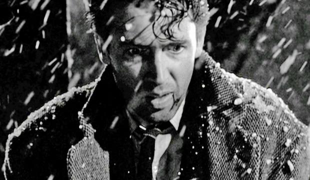 A still from It's A Wonderful Life of 1946