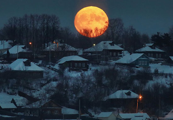 The Super Blue Blood Moon Is Making People Feel Extra Moody Beaver Moon W