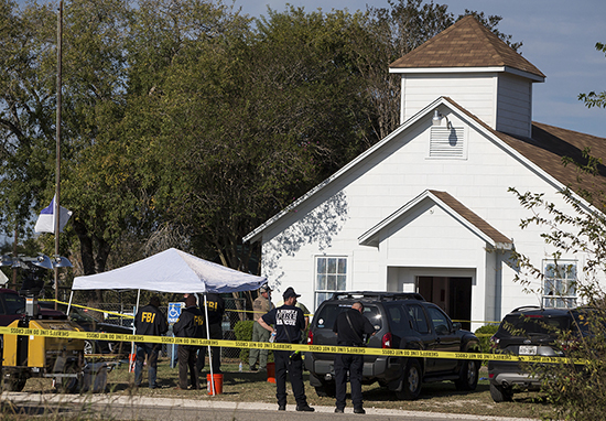 Pastors Daughter First Victim Identified In Texas Church Massacre Church