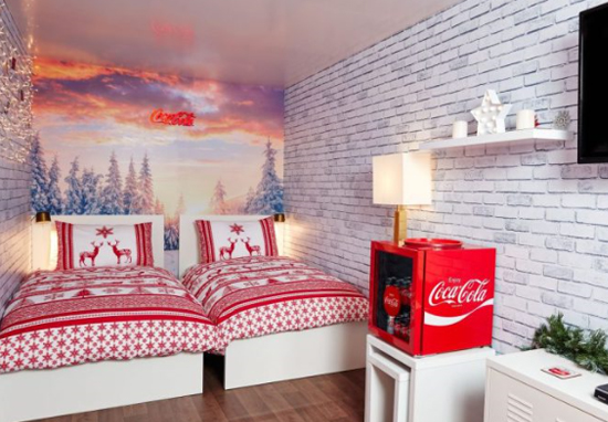You Can Now Spend A Night In the Coca Cola Christmas Truck Coca Cola A