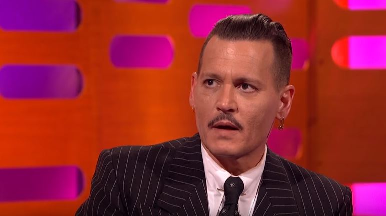 Johnny Depp on The Graham Norton Show