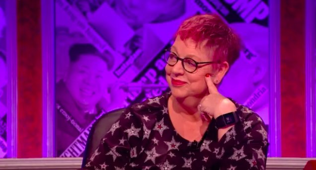 Jo Brand Perfectly Silences All Male Panel After Sexual Harassment Joke DNyhM4sXkAAQ5hl