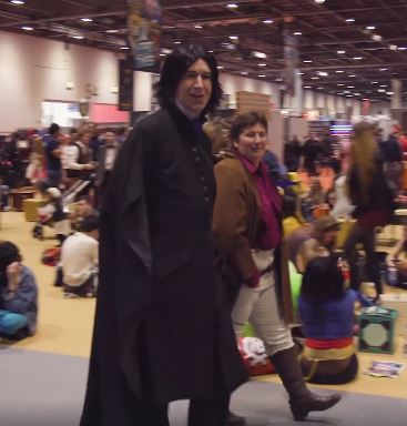 The Best Costumes At Comic Con Were Mind Blowing EMP Snape