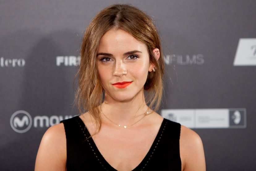 Emma Watson black dress