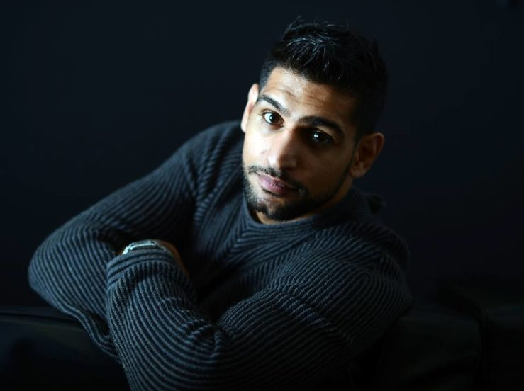 Amir Khan Is The Highest Paid Contestant On Im A Celeb This Year GETTRY
