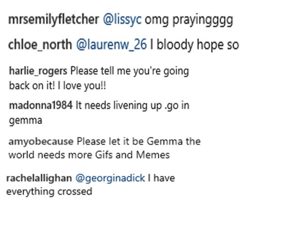 Gemma Collins Hints Shes Replacing Jack Maynard In Im A Celeb Jungle Gemma Jack comments 624x468
