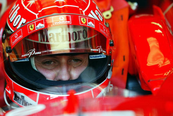 Michael Schumacher Sending Signals From Distant World GettyImages 2007689