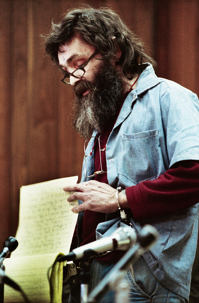 Charles Manson Leaves Entire Estate To His Pen Pal GettyImages 515207710