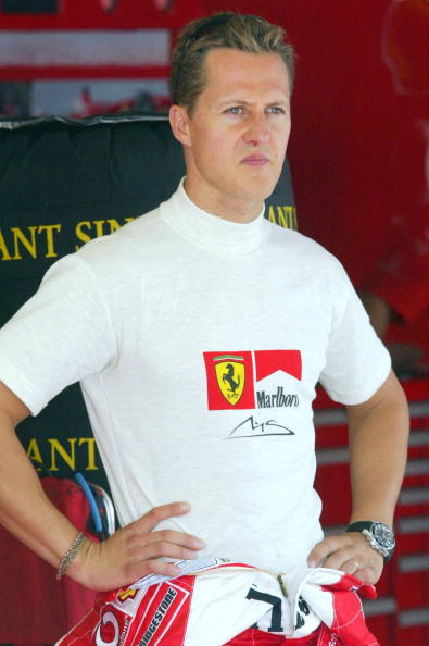 Michael Schumacher Sending Signals From Distant World GettyImages 52705540