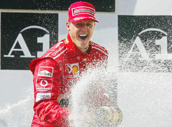 Michael Schumacher Sending Signals From Distant World GettyImages 52705577
