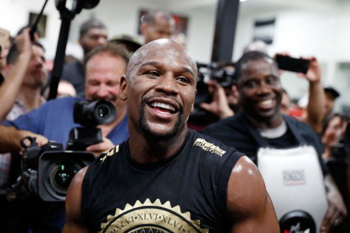 Floyd Mayweather Calls 50 Cent Broke And A Snitch In Brutal Instagram War GettyImages 829624148 1048x700 702x468