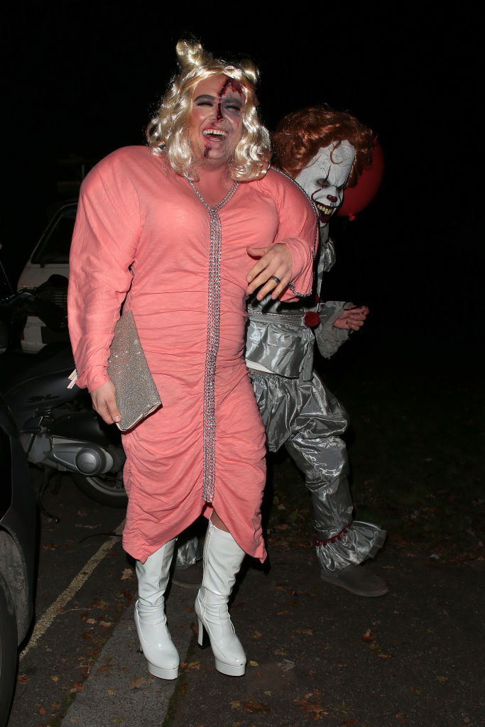 Alan Carr Went To Halloween Party Dressed As Gemma Collins GettyImages 868745254