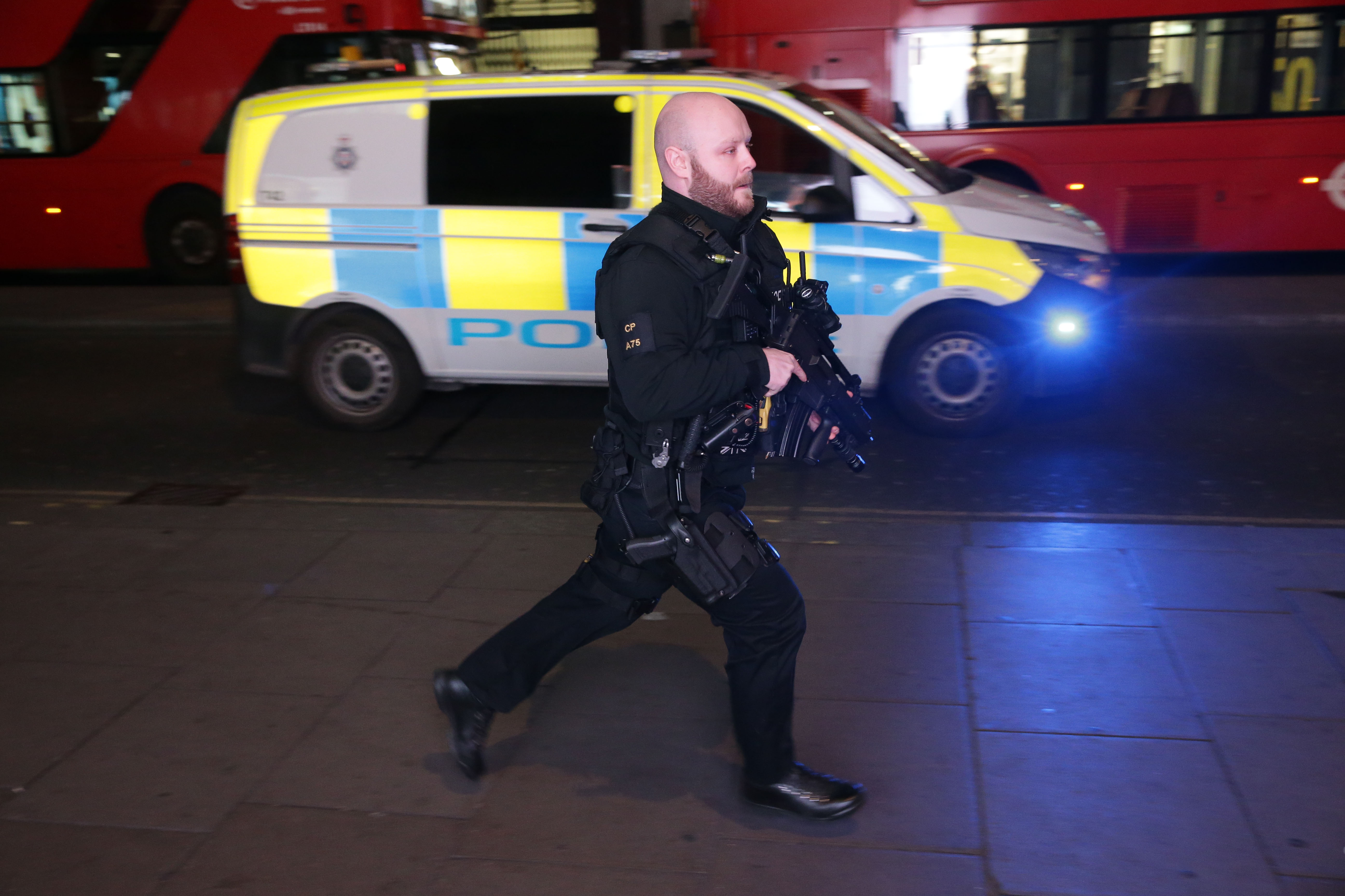 Police Say No Evidence Of Shots Fired Or Casualties At Oxford Circus GettyImages 878519034