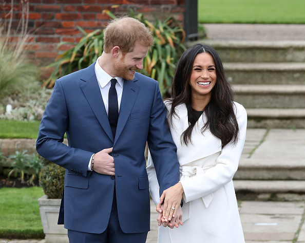 Meghan Markles Shows Off Absolutely Massive Engagement Ring GettyImages 880160654