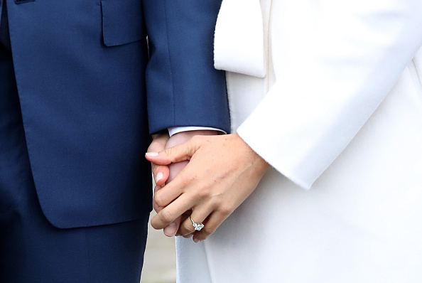 Meghan Markles Shows Off Absolutely Massive Engagement Ring GettyImages 880161888