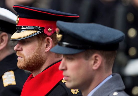 Prince Harry Breaks Huge Rule During Remembrance Day Parade Harry B