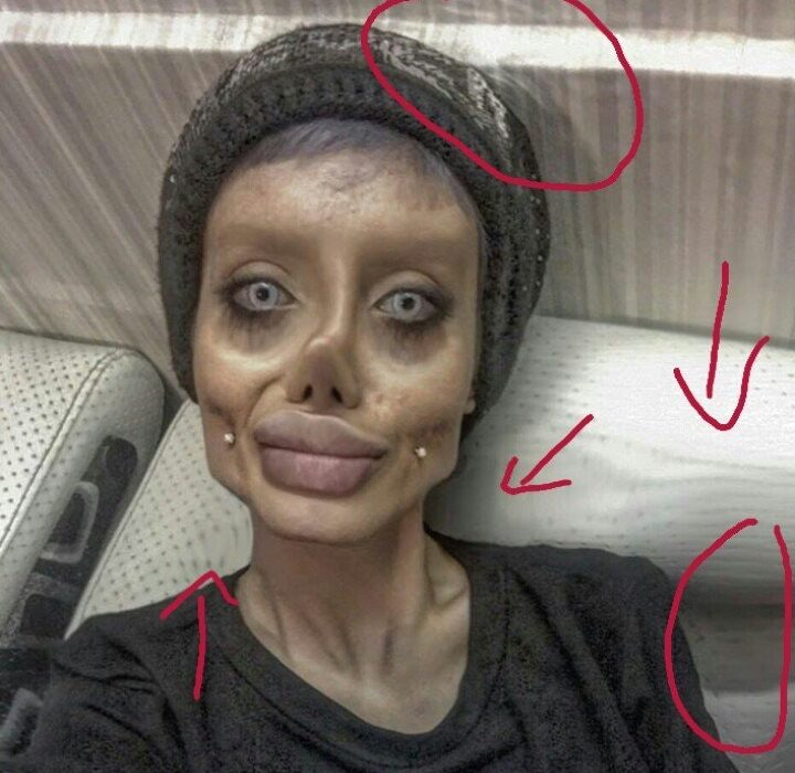 Guy Makes Shock Discovery About Woman Whos Had 50 Surgeries To Look Like Angelina Jolie LAXu91qdag6NCyqhCCjaYoso3lScJC4FnSDYf lQK18 720x700