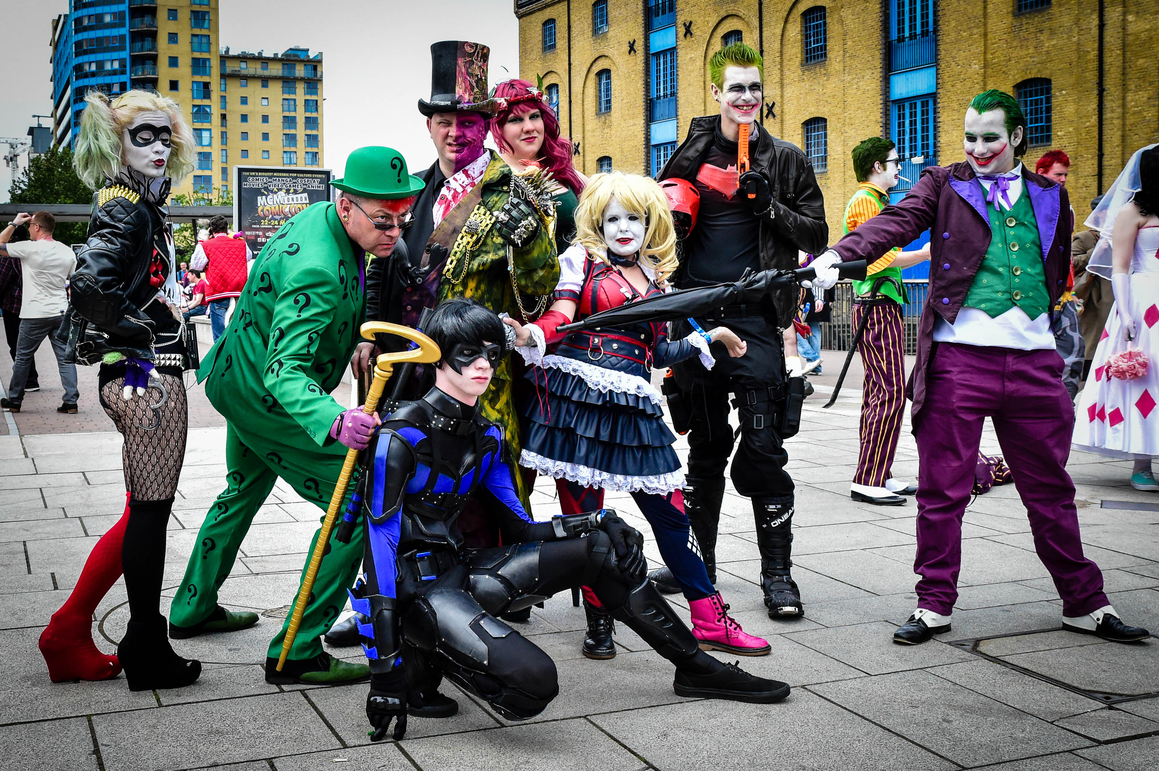 The Best Costumes At Comic Con Were Mind Blowing London Comic Con 2015   Gotham 18057299321
