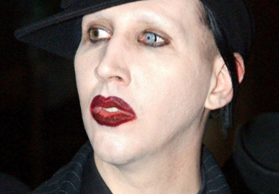 from Quinton marilyn manson a tranny