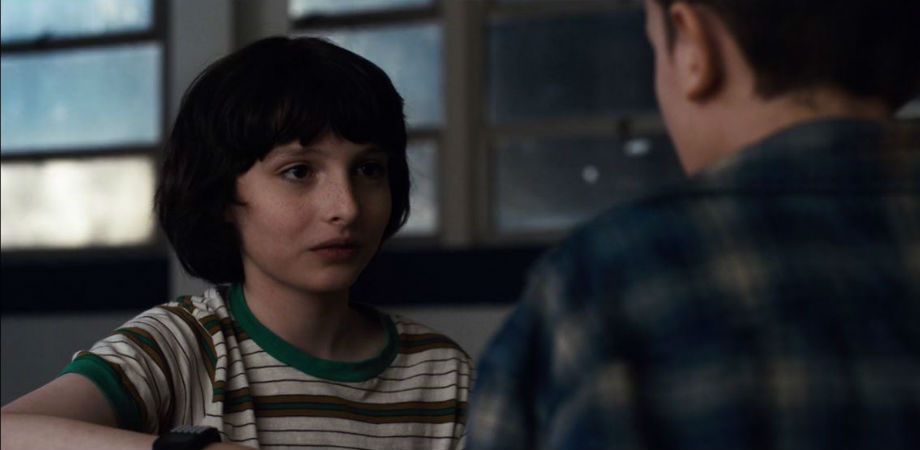 Model Sends Disturbing Message To 14 Year Old Stranger Things Star Mike smiles after kissing El stranger things