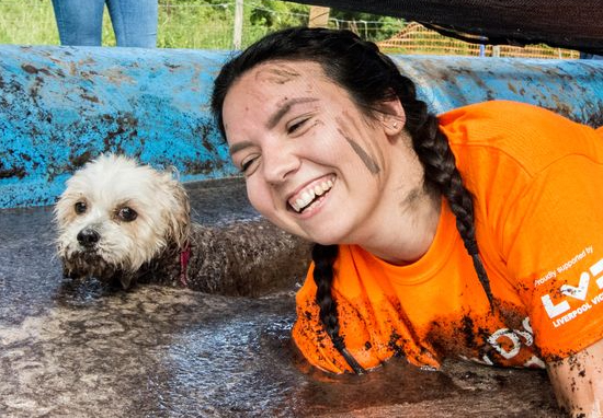 Muddy Obstacle Course For Dogs And Their Owners Coming To UK Muddy Dog Challenge A
