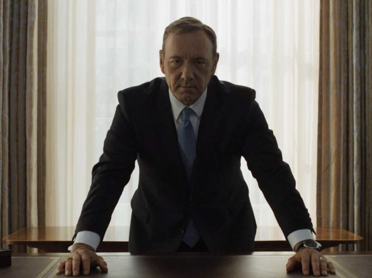 Favourite To Replace Kevin Spacey In House Of Cards Revealed NETFLIX