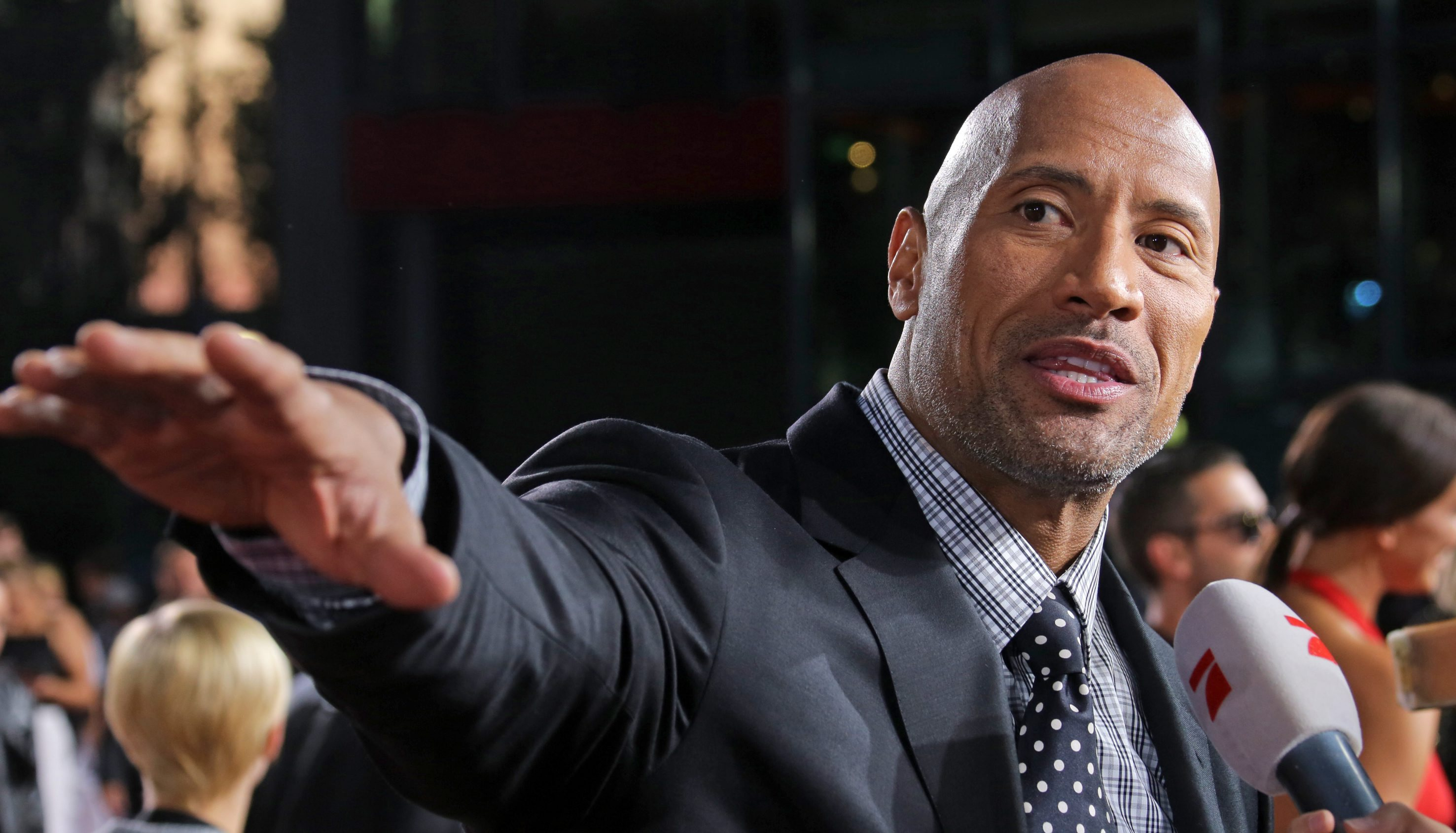 The Rock Is Finally Getting His Own Hollywood Star PA 20699049
