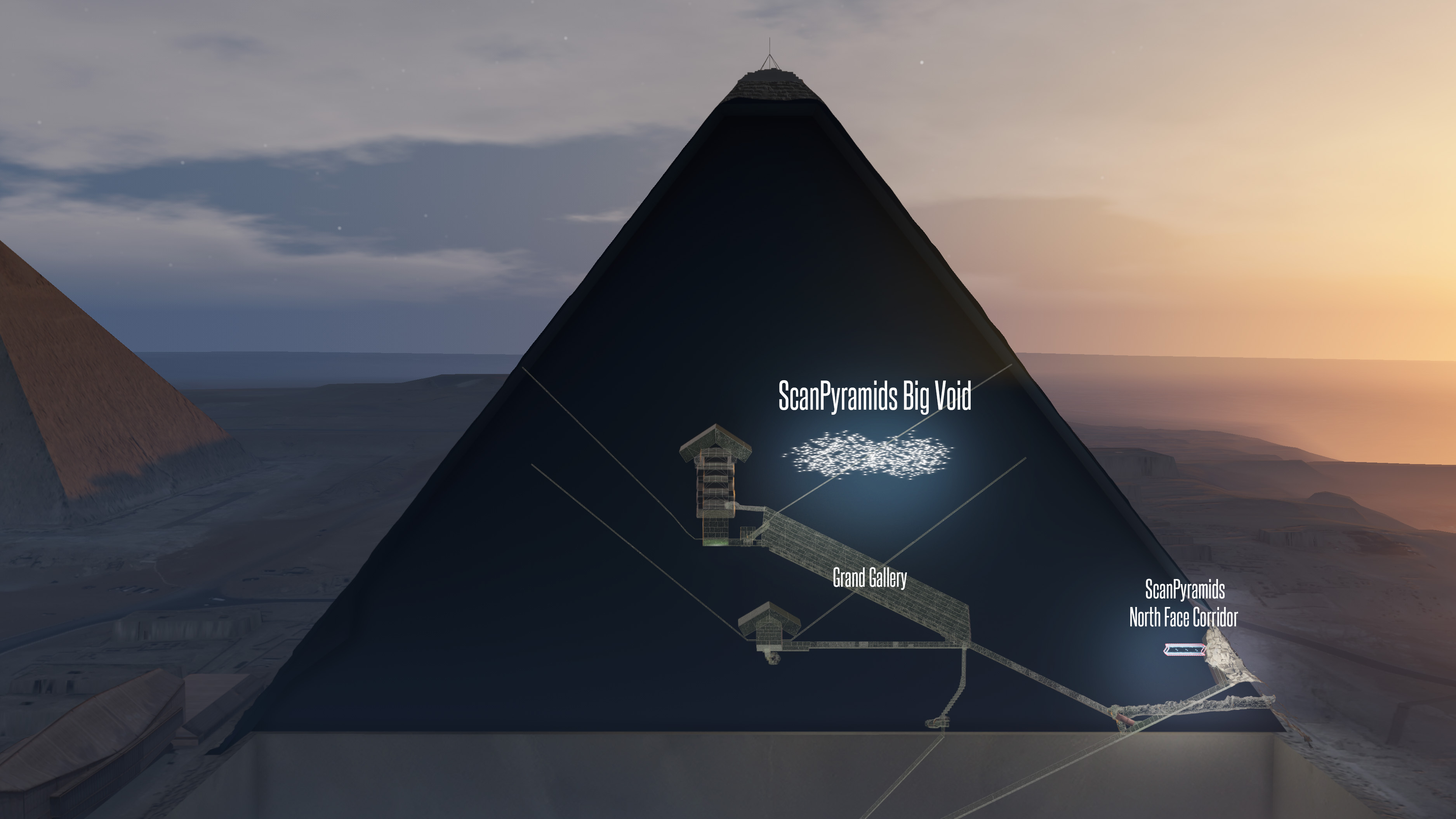 Scientists Make Incredible Discovery Inside Great Pyramids Of Giza PA 33548741