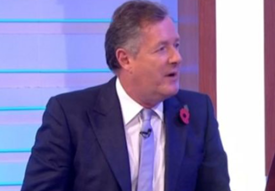 Piers Morgan Trolls BBC Breakfast With Brutal Billboard Outside Studio Piers Morgan Stark Trek A