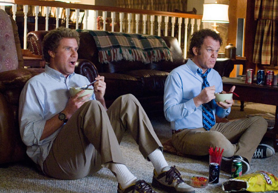 Will Ferrell and John C. Reilley in Step Brothers