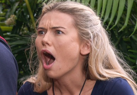 Serious Reason Georgia Toffolo Allowed Makeup In Im A Celeb Jungle Toff web
