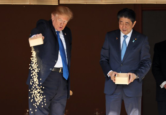 Viral Image Of Trump Feeding Fish Disrespectfully Is Not At All What It Seems WEBTHUMBNEW re