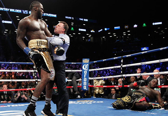 Deontay Wilder Wants Anthony Joshua Fight Next After Brutal 8 Punch KO Wilder W