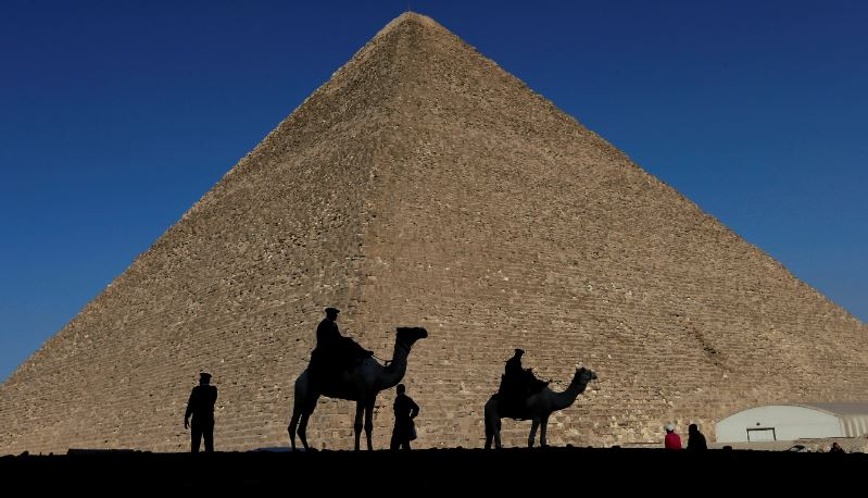 Hidden Structure Found Inside Great Pyramid Of Giza In Huge Breakthrough camel cops