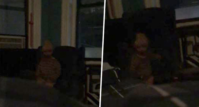 Guy Shares Photos Of 'Dead Child' Haunting His Apartment