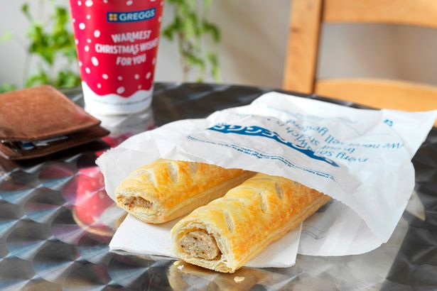 Greggs Festive Bake Is Available From Today greggs 2