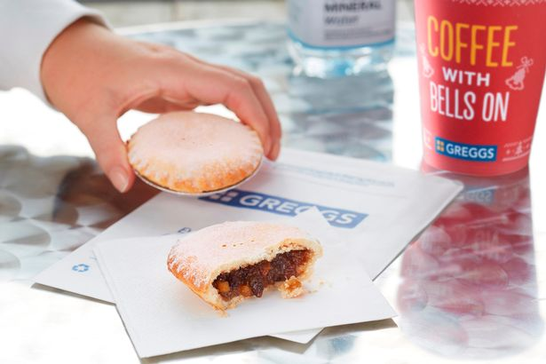 Greggs Festive Bake Is Available From Today greggs 5