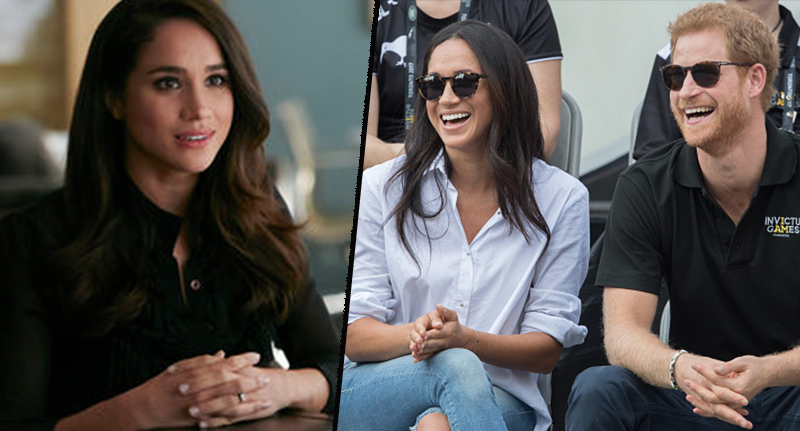 Meghan Markle Will Receive A Royal Title When She Weds Prince Harry harry meghan fb